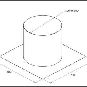 Chimney plate (made to order)